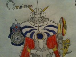 Omnimon Drawing by Omnimon1996