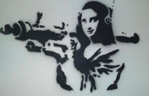 banksy mona lisa hq by karl-penguin