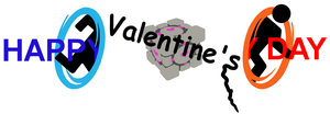 Portal Valentine's Day Card by RussianGentleman