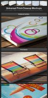 Universal Print-Closeup Mockups by h3design