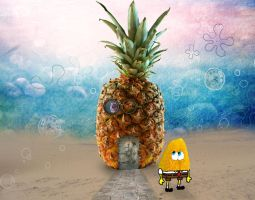 SpongeBob Fotolia by MorbidMorticia