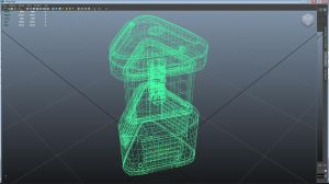 3D modeling Assignment 1 - LED lantern Wireframe v by smp156