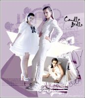 Collage Camilla Belle by cawo