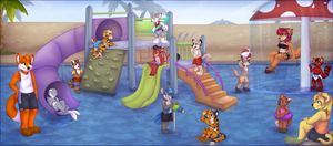 Water Park fun! by High-Yote