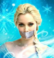 elsa gagged (once upon a time) by gaggeddude32