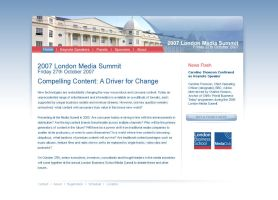 london media summit site by neme313