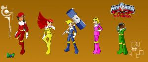 Here comes the Rangers by Rollster007