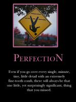 P is for Perfection by demotivated16