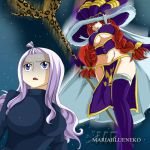 Mirajane vs Eileen by MariaBlueNeko