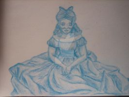 wendy darling ball gown by Artzychica