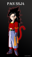 Pan ssj4 by Metamine10