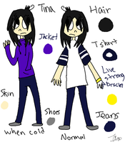 Me ref by AutumLeavesofFall
