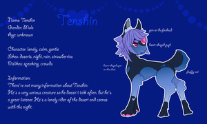 Tenshin - Reference Sheet by Fucal