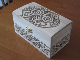 Odin-Sleipnir jewel box by Shatiel85