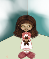Girl  Caricature1 by thepurpleorchid1