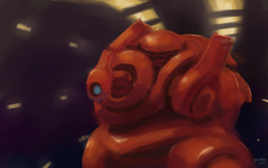 Nexus 7 - i do not know what this robot does by Jeffufu