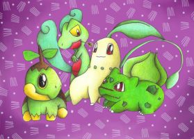 Grass Starters by Km92