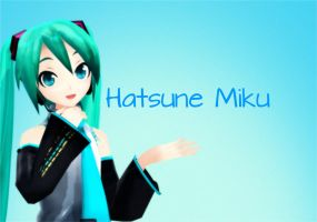 Hatsune Miku by Xapyourdead