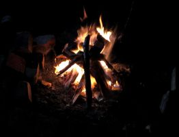 Fire in the Night by agreenbattery