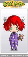 Chibi/Young Racheal Crying by gabrielle44