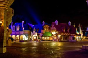 MK Fantasyland Night Stock 4 by AreteStock