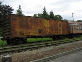 Antique Train 3 by SerendipityStock