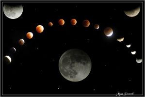 Lunar Eclipse collage by AnimaSoucoyant