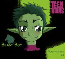 Beast Boy by Uniformshark