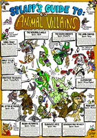 The Guide to Animal Villains by Splapp-me-do