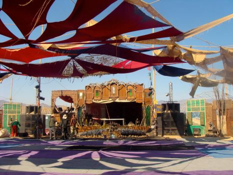 Symbiosis earth stage by Mosshi