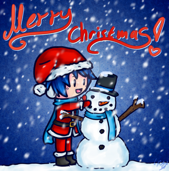 Merry Christmas 2016 by AceAttorneygirl