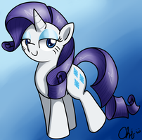 Rarity by CrispyChris
