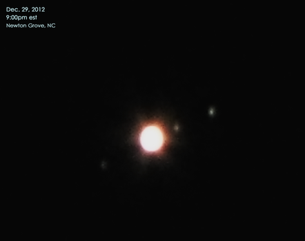Jupiter Dec 29 2012 by laurapalmerwashere