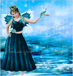 Dancing with blue Fairy by asmaa-rabiaa