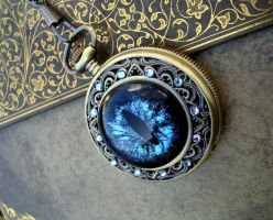 Sovereign 1 - Super Shift - Pocket Watch by LadyPirotessa