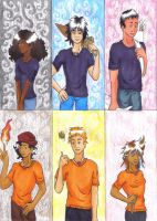 Canonical Six of the Prophecy by MoonlightFirefox