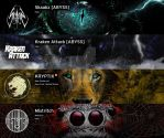 SoundCloud Banners 01 by PaperSaurus