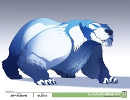 Arctic Bear by MURCHIEMONSTER
