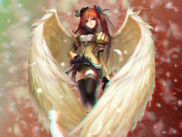 Anime Angel 3-D conversion by MVRamsey