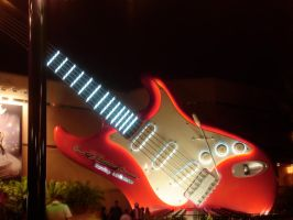 Aerosmith Guitar Wallpaper by WDWParksGal