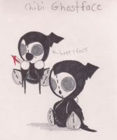 chibi ghostface by jason-the-13th