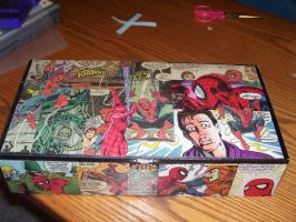 Spider-Man Box for Krystin by UnderdogGirl