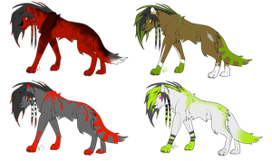 4 Scenewolf - Points Adopts - CLOSED by xPixe