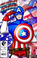 Captain America: All american loyalty guy by ruzovymonster