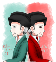 + The Two Faces of Mr. Euler + by Serket-XXI