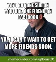 Facebook and you tube by brandonthebeast34
