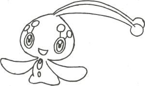 Manaphy Sketch by CoolMan666