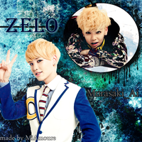Commission 2 of 2 Zelo Wallpaper by MiAmoure