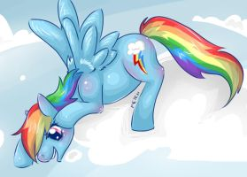Rainbowdash by CNat