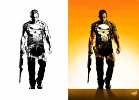Punisher_Color. by Troianocomics